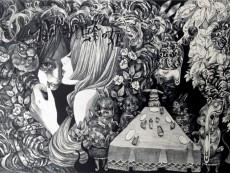 ブルーベリーと蜂の姫